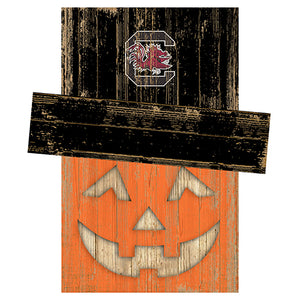 University of South Carolina Pumpkin Head w/Hat