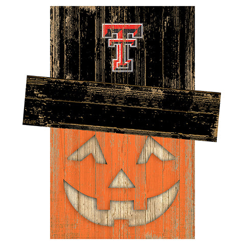 Texas Tech University Pumpkin Head w/Hat