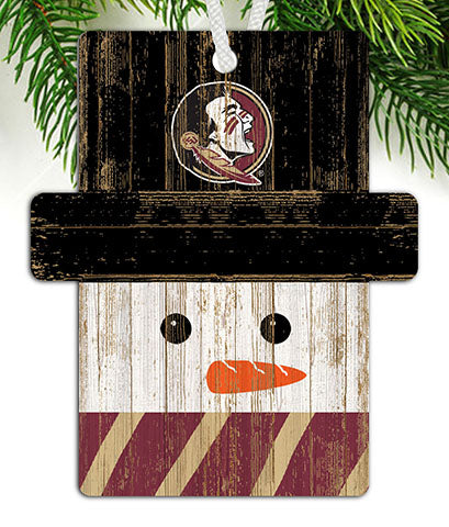 Florida State Snowman Ornament