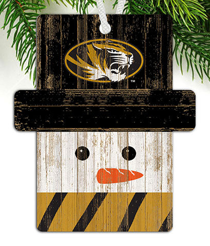 University of Missouri Snowman Ornament