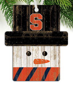 Syracuse Snowman Ornament