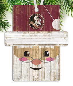 Florida State Santa Ornament