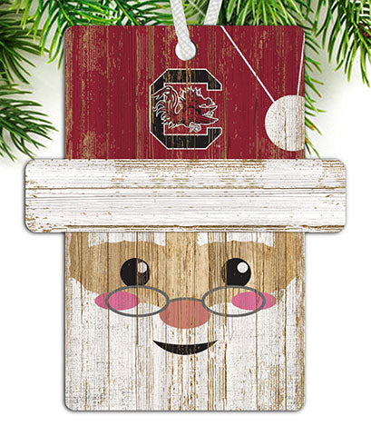University of South Carolina Santa Ornament