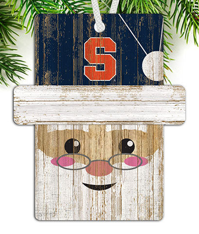 Syracuse Santa Ornament