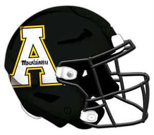 Appalachian State Authentic Helmet Cutout 24""