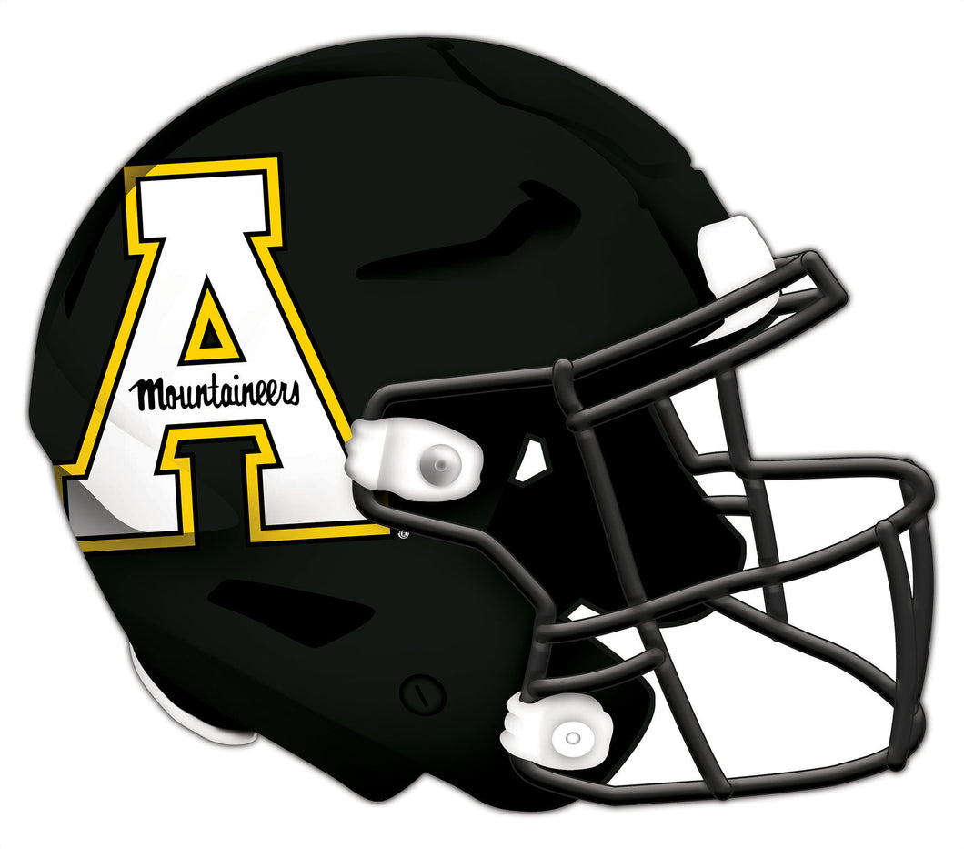 Appalachian State Authentic Helmet Cutout 24