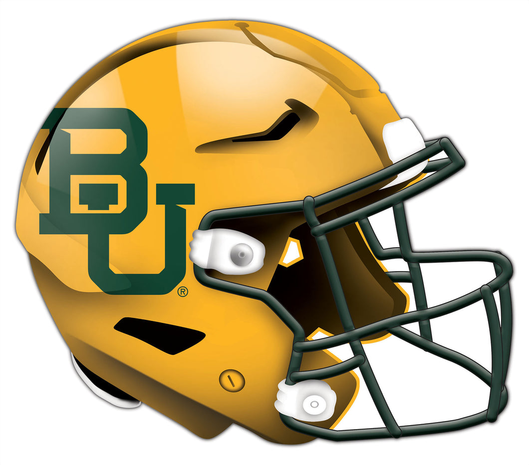 Baylor Authentic Helmet Cutout 24