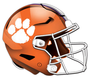 Clemson University Authentic Helmet Cutout 24""