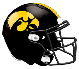 Iowa Authentic Helmet Cutout 24""