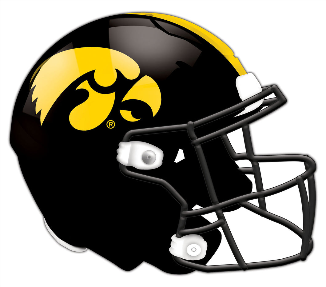 Iowa Authentic Helmet Cutout 24