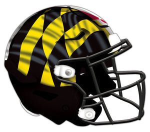 Maryland Authentic Helmet Cutout 24""