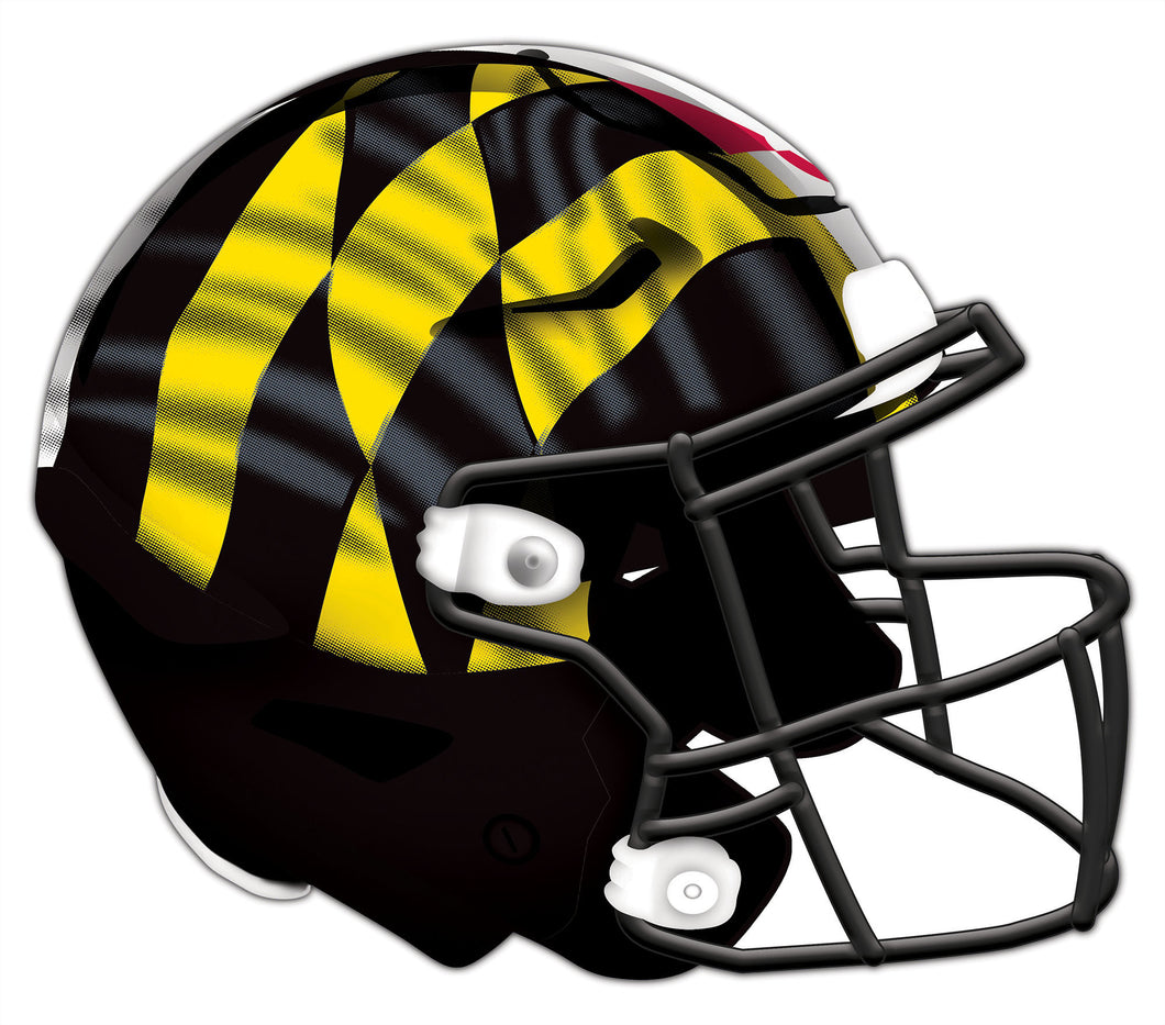 Maryland Authentic Helmet Cutout 24