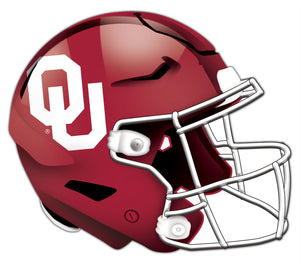 University of Oklahoma Authentic Helmet Cutout 24""