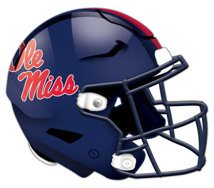 Ole Miss Authentic Helmet Cutout 24