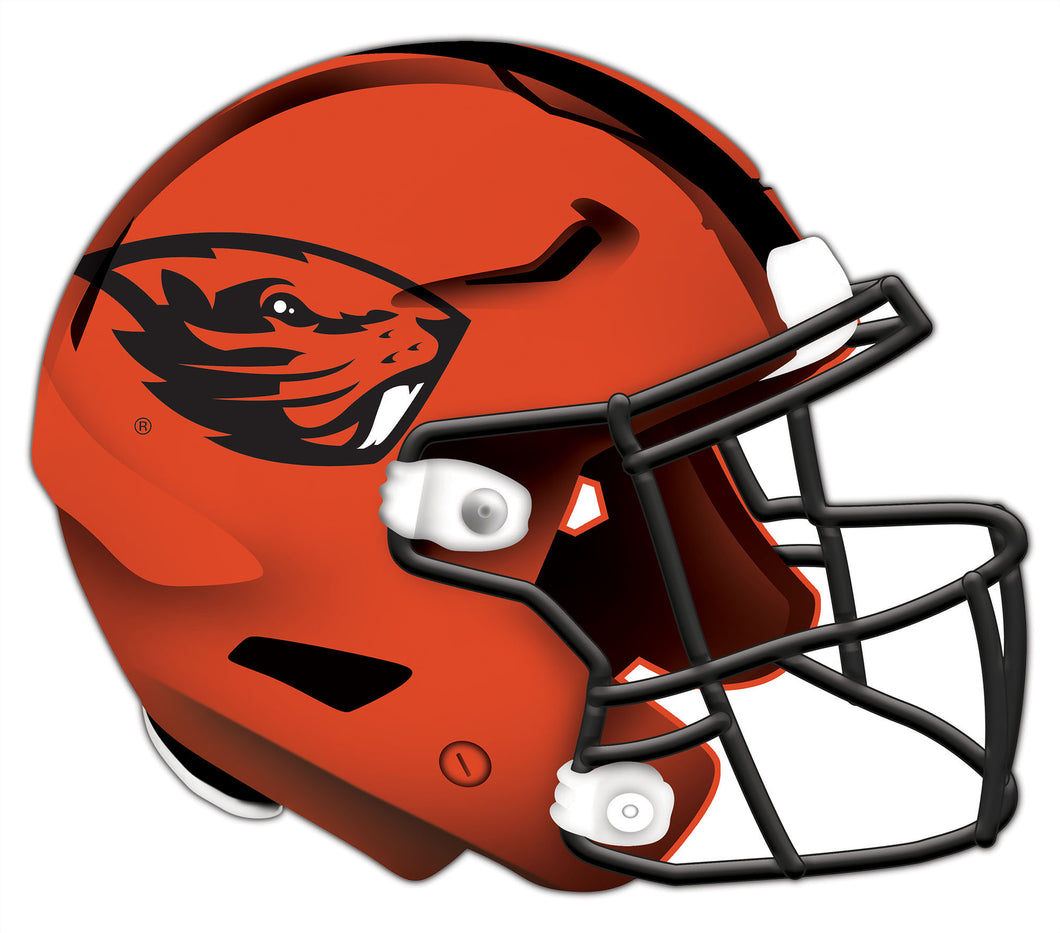 Oregon State Authentic Helmet Cutout 24