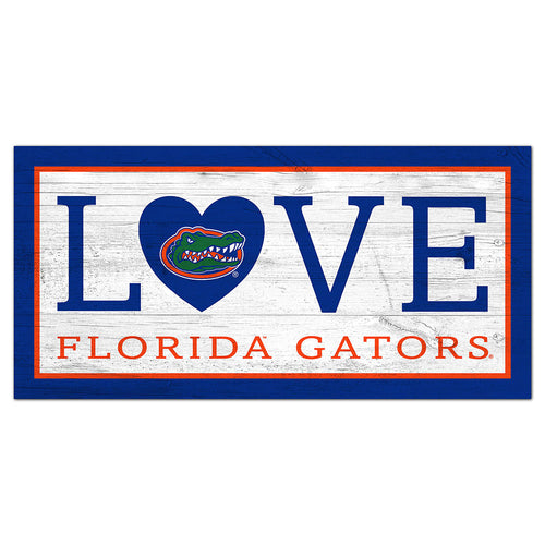 University of Florida Love 6x12 Sign