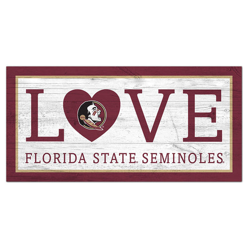 Florida State Love 6x12 Sign