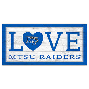 Middle Tennessee Love 6x12 Sign