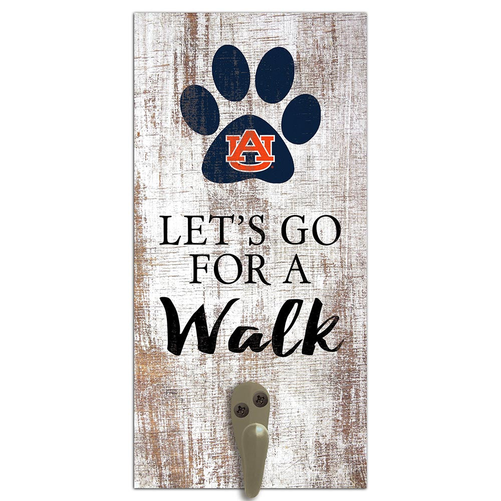 Auburn University Leash Holder 6x12 Sign