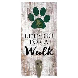 Baylor Leash Holder 6x12 Sign