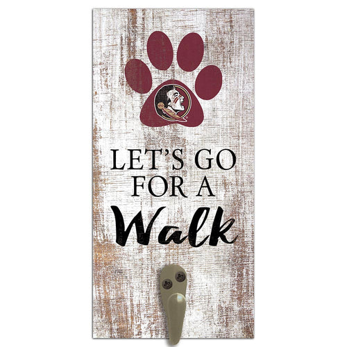 Florida State Leash Holder 6x12 Sign