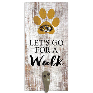 University of Missouri Leash Holder 6x12 Sign