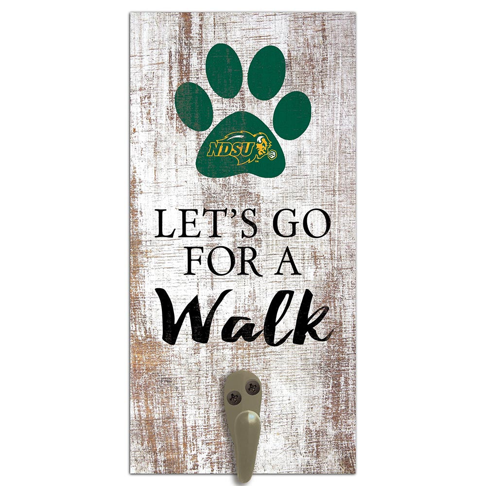 NDSU Leash Holder 6x12 Sign