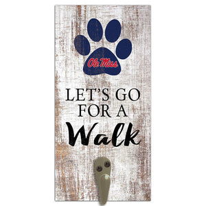 Ole Miss Leash Holder 6x12 Sign
