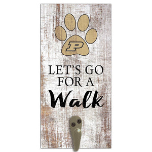 Purdue Leash Holder 6x12 Sign