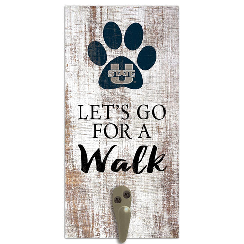 Utah State Leash Holder 6x12 Sign