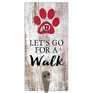 Utah Leash Holder 6x12 Sign