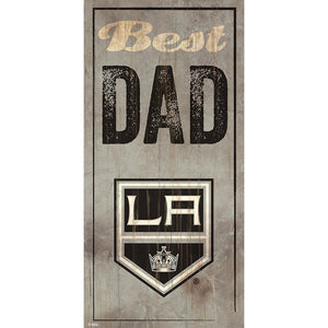 Los Angeles Kings Best Dad 6x12 Sign