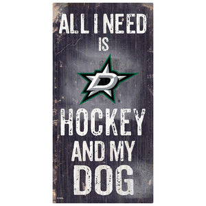 Dallas Stars Hockey and My Dog Sign