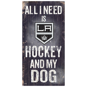 Los Angeles Kings Hockey and My Dog Sign