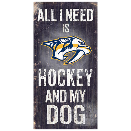 Nashville Predators Hockey and My Dog Sign