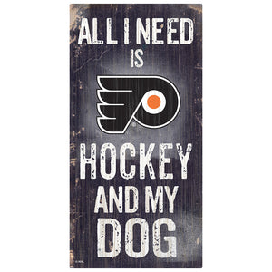 Philadelphia Flyers Hockey and My Dog Sign