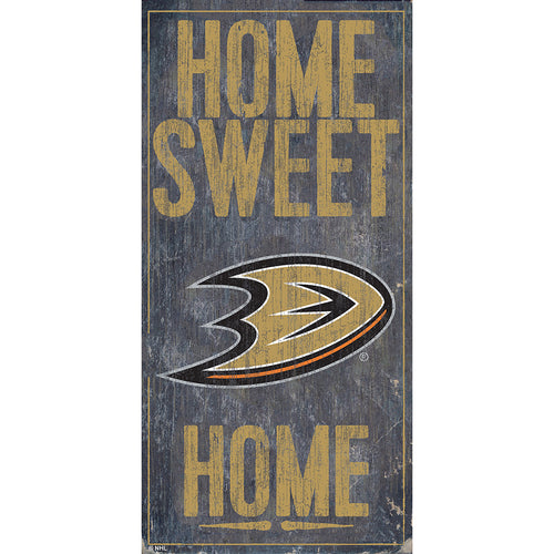 Anaheim Ducks Home Sweet Home 6x12