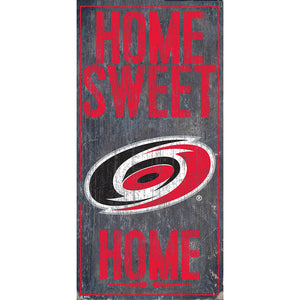 Carolina Hurricanes Home Sweet Home 6x12