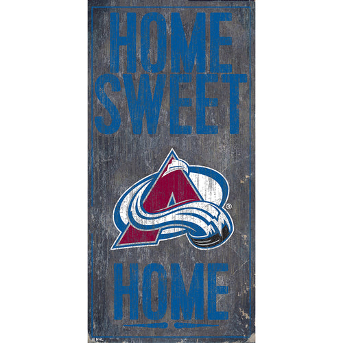 Colorado Avalanche Home Sweet Home 6x12