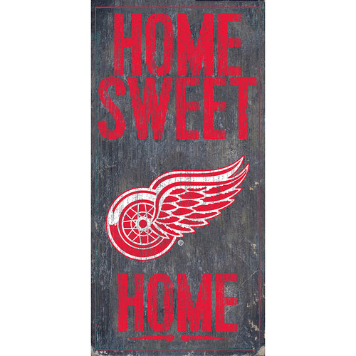 Detroit Red Wings Home Sweet Home 6x12