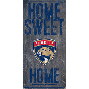 Florida Panthers Home Sweet Home 6x12