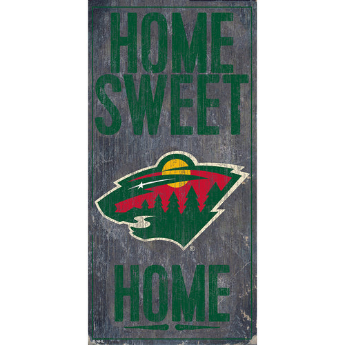 Minnesota Wild Home Sweet Home 6x12