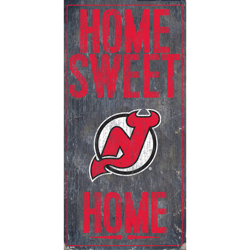 New Jersey Devils Home Sweet Home 6x12