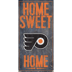 Philadelphia Flyers Home Sweet Home 6x12