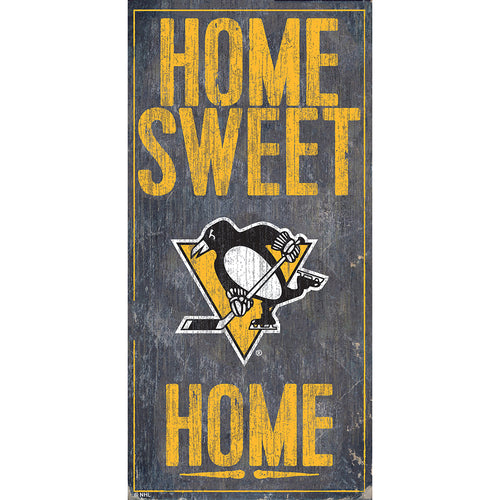 Pittsburgh Penguins Home Sweet Home 6x12