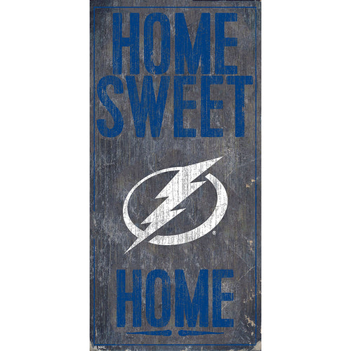 Tampa Bay Lightning Home Sweet Home 6x12