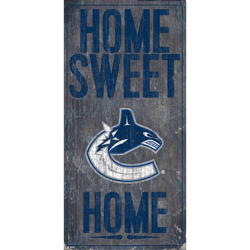 Vancouver Canucks Home Sweet Home 6x12