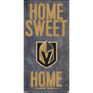 Vegas Golden Knights Home Sweet Home 6x12