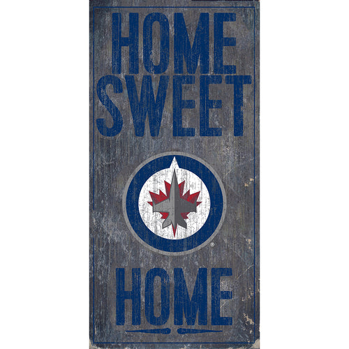Winnipeg Jets Home Sweet Home 6x12