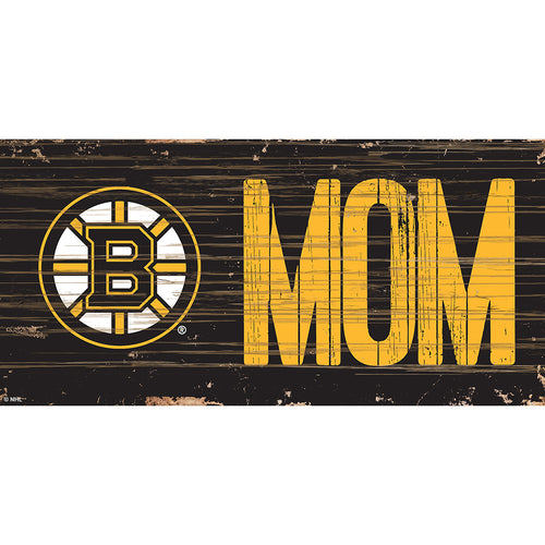 Boston Bruins MOM 6x12 Sign
